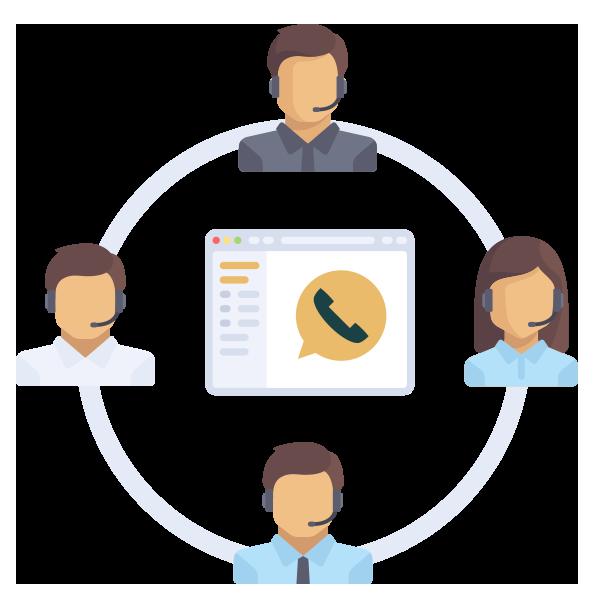 Asterisk based Call Center Software